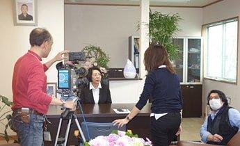 NHK取材風景1